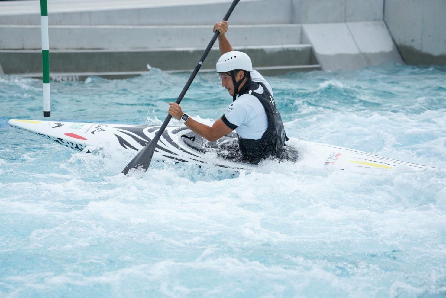 水走3号艇 カヌー・スラロームセンター試験